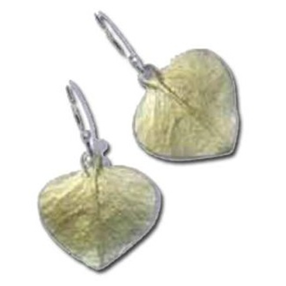 Eucalyptus Drop Wire Earrings | Michael Michaud Jewelry | SS4070bz -2