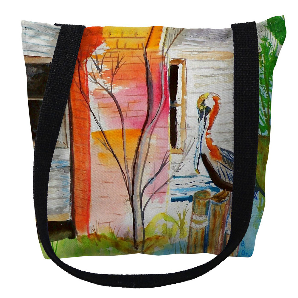 Betsy's Pelican Tote Bag   Betsy Drake   TY036M