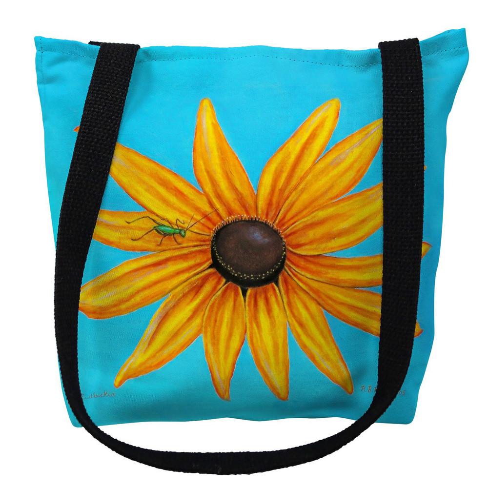 Black-Eyed Susan Flower Tote Bag | Betsy Drake | TY047M