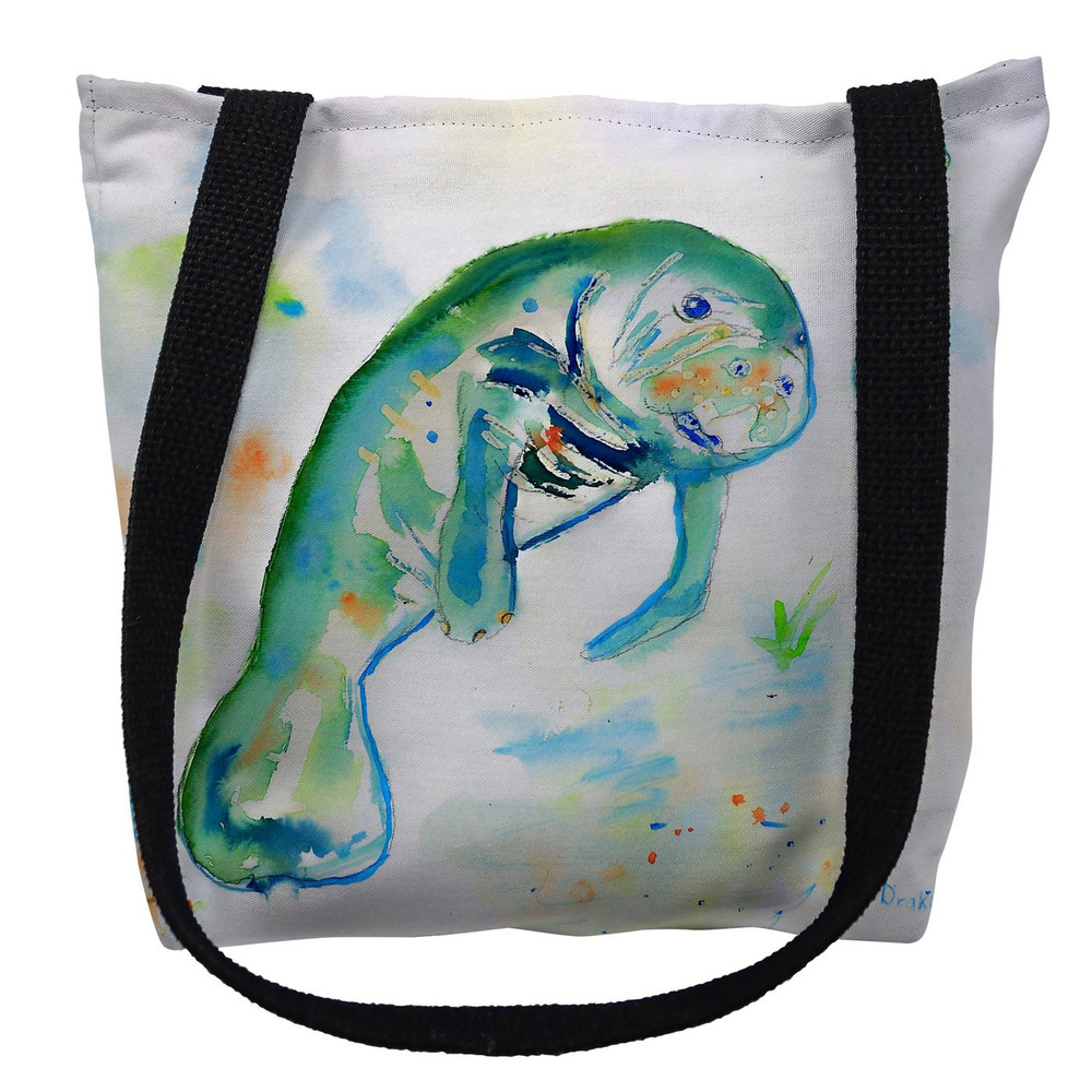 Betsy's Manatee Tote Bag | Betsy Drake | TY061M