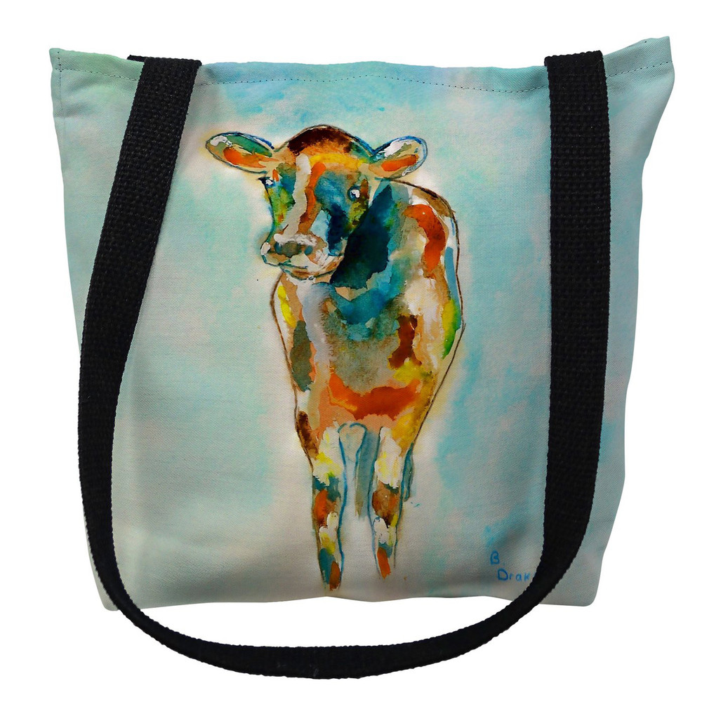 Betsy's Cow Tote Bag   Betsy Drake   TY066M