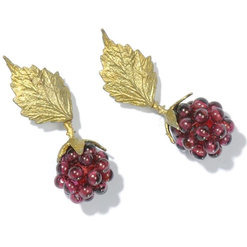 Raspberry Earrings | Michael Michaud Jewelry | SS4089bzgn