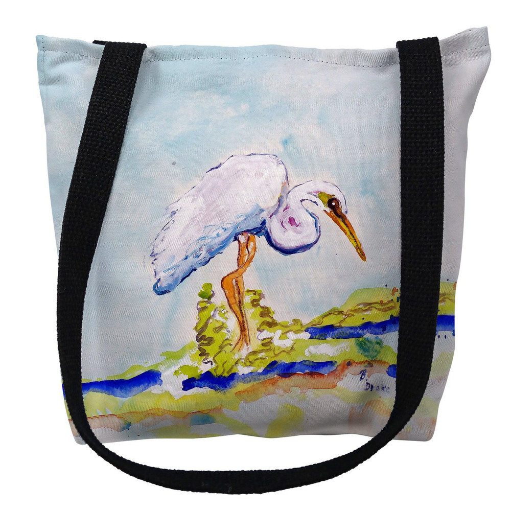 Betsy's Egret Tote Bag | Betsy Drake | TY176M