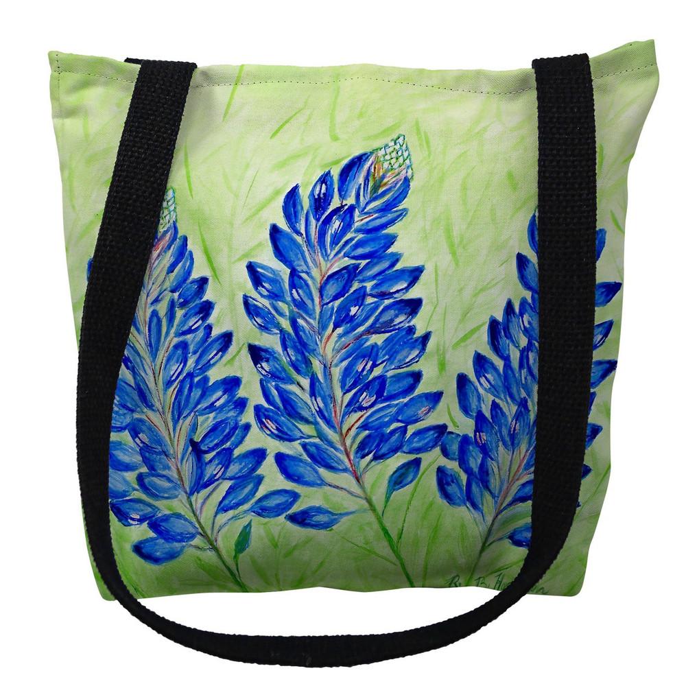 Blue Bonnets Tote Bag   Betsy Drake   TY192M