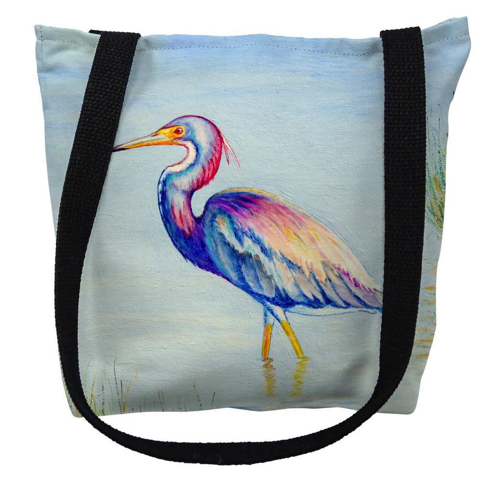 Tri-Colored Heron Tote Bag   Betsy Drake   TY756M
