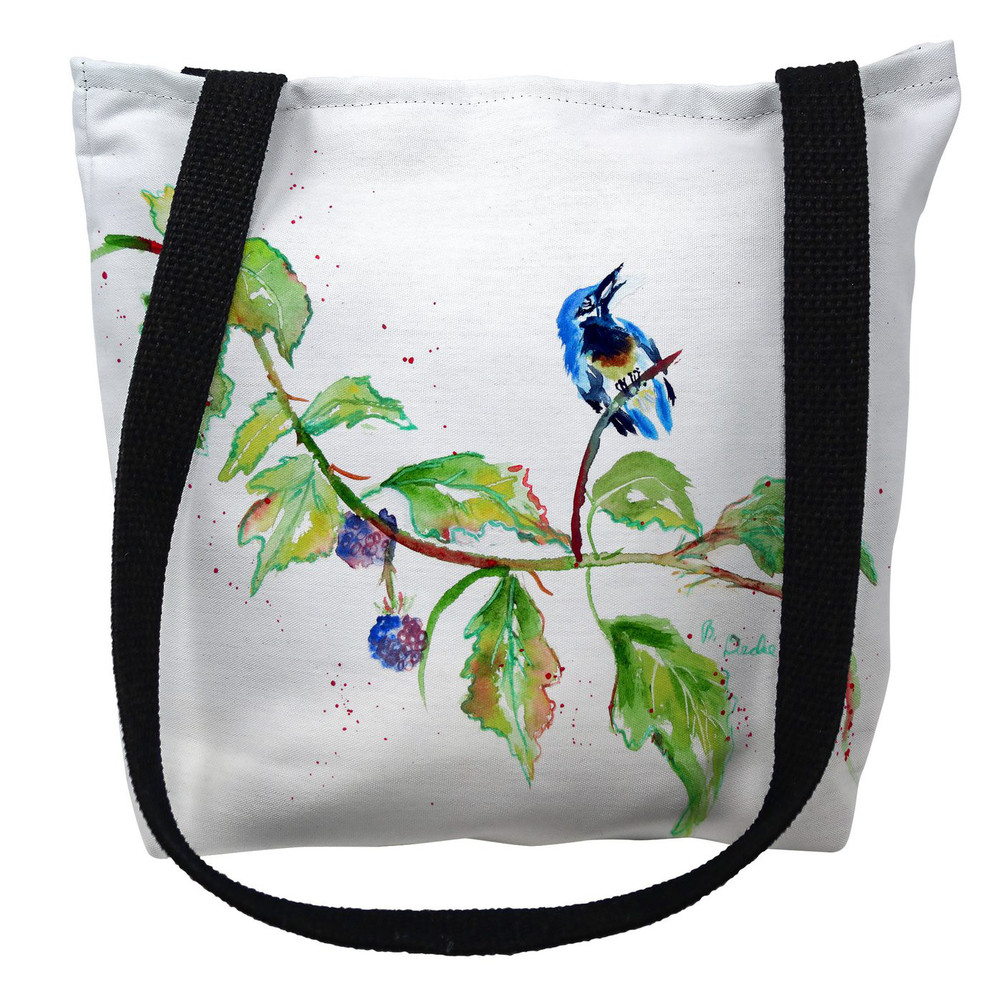 Bird and Blackberries Tote Bag | Betsy Drake | TY1072M