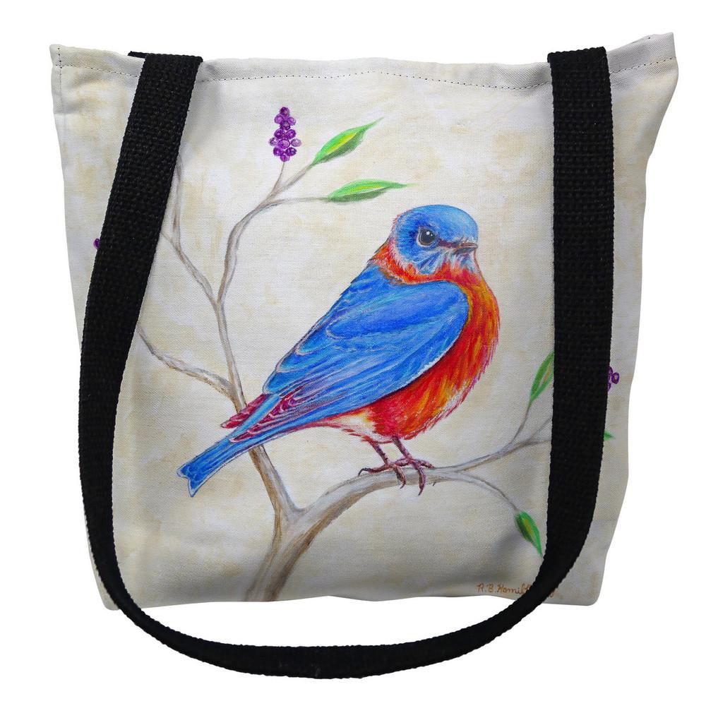 Dick's Blue Bird Tote Bag   Betsy Drake   TY1050M