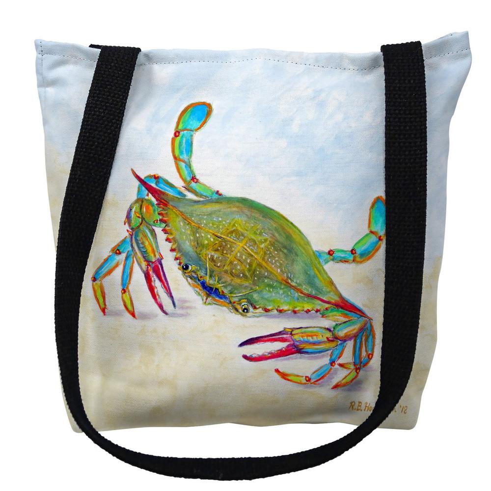 More than Blue Crab Tote Bag | Betsy Drake | TY1026M