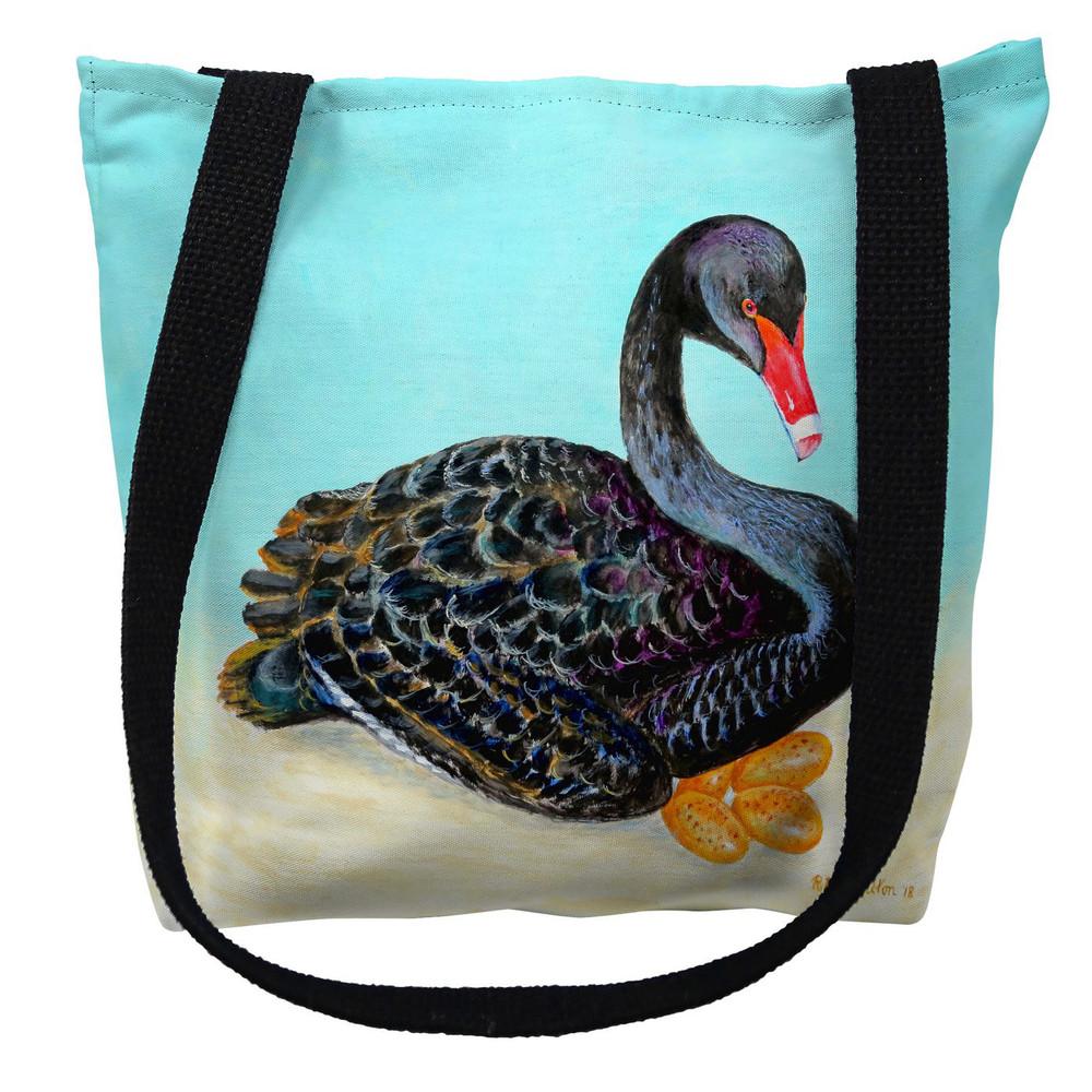 Black Swan Tote Bag   Betsy Drake   TY1012M