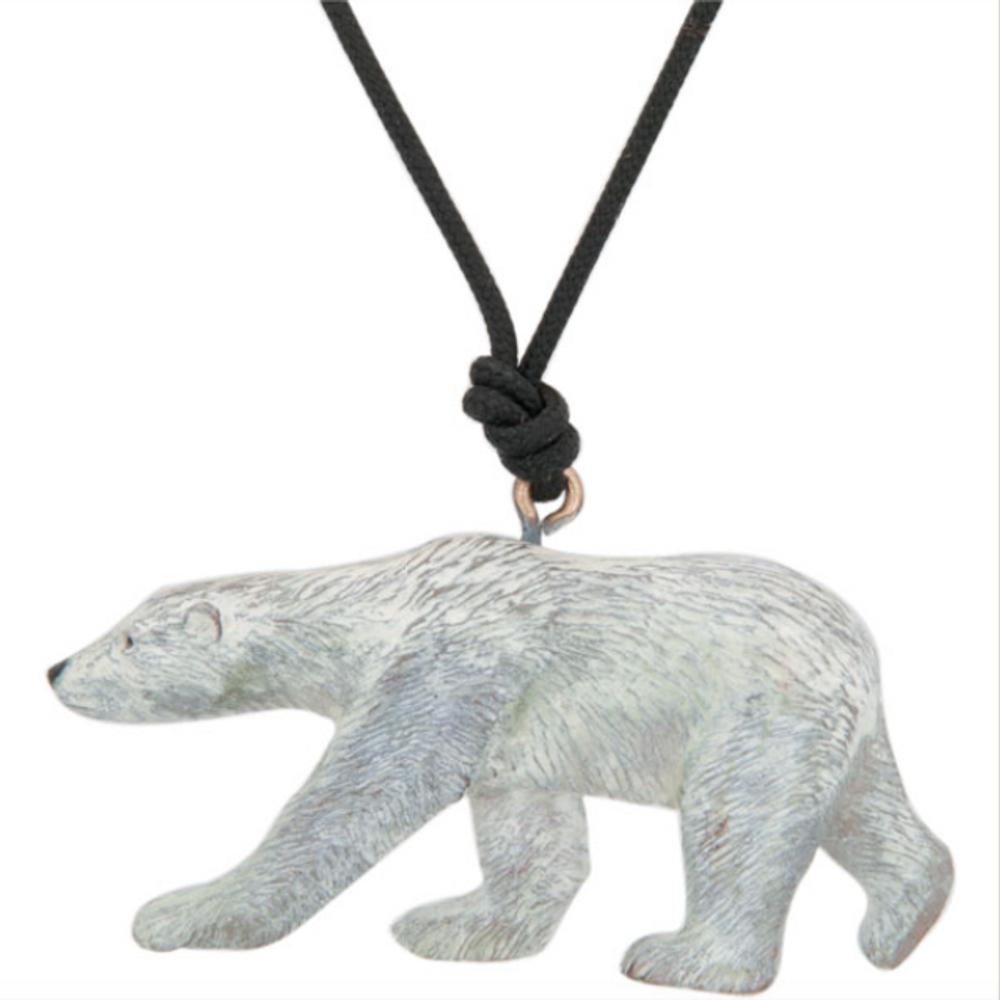 Polar Bear Pendant Necklace | Cavin Richie Jewelry | KB-155-PEND