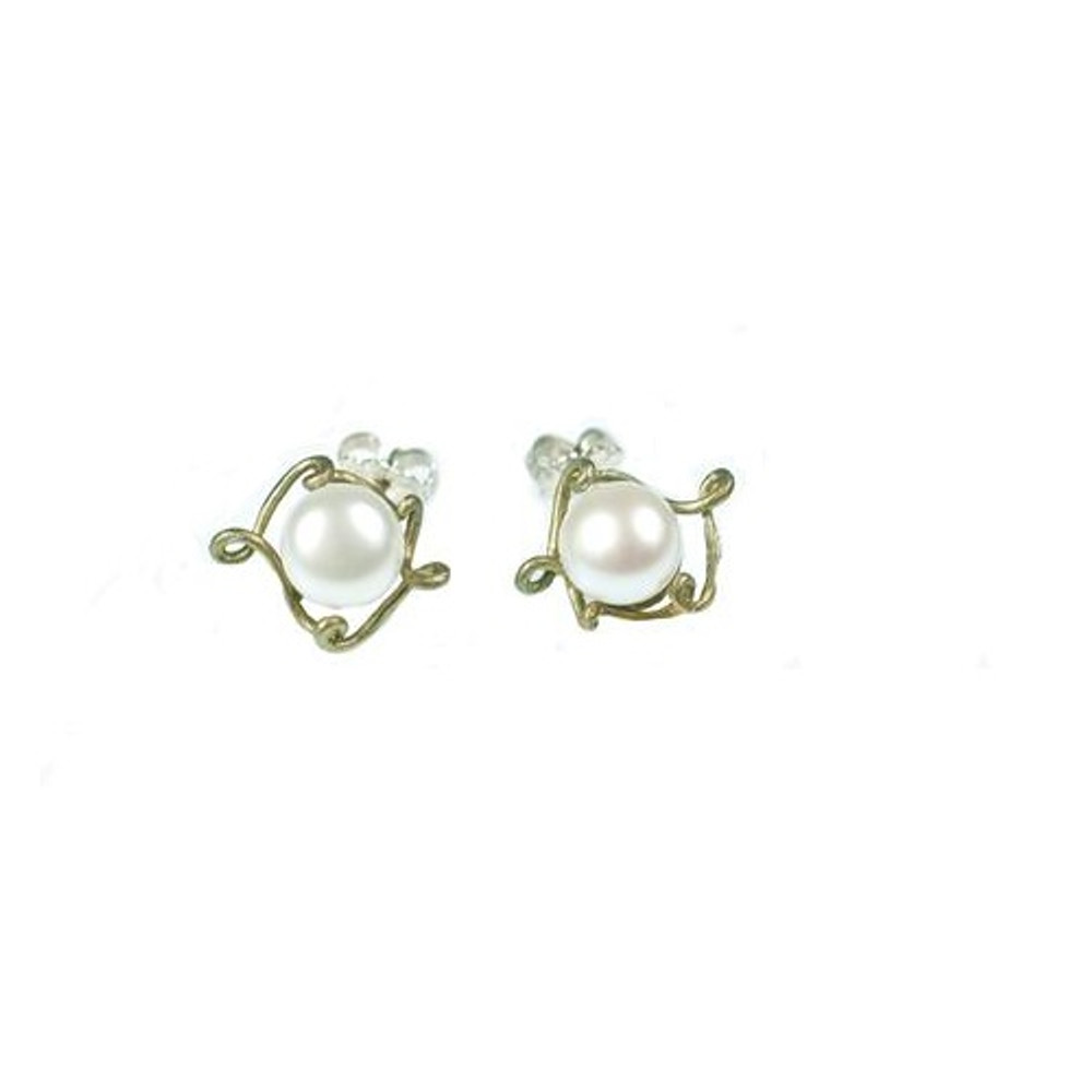 Peapod Post Earrings | Michael Michaud Jewelry | SS4297bzwp