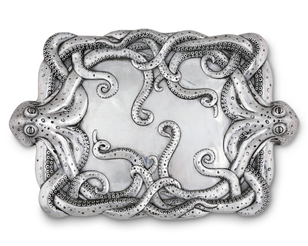 Octopus Centerpiece Tray   Arthur Court Designs   112O12