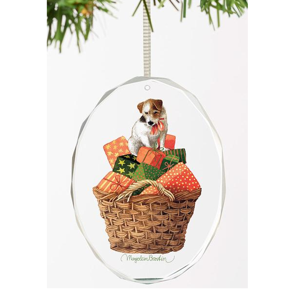 Dog Crystal Ornament | Holiday Treasures | Wild Wings