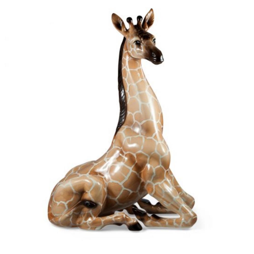 Giraffe Ceramic Sculpture | Intrada Italy | ANI1278