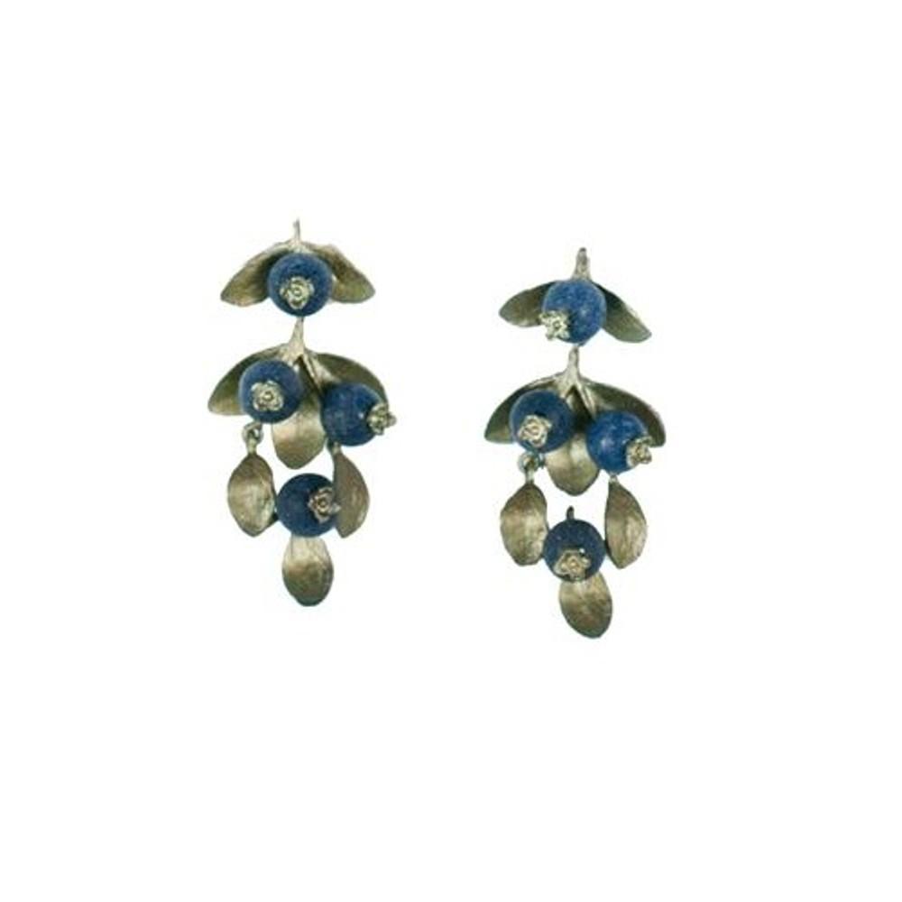 Blueberry Drop Earrings | Michael Michaud Jewelry | SS4383BZBC