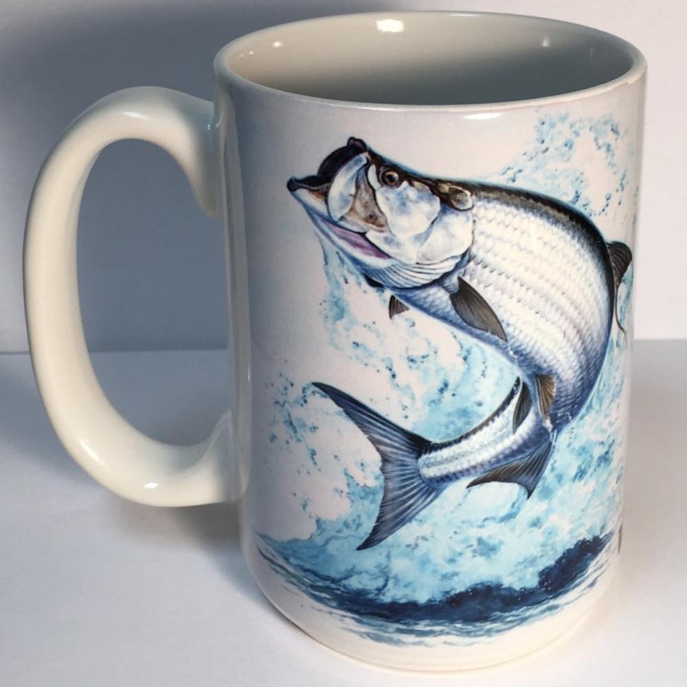 Tarpon 15oz Ceramic Mug   Tarpon Coffee Mug