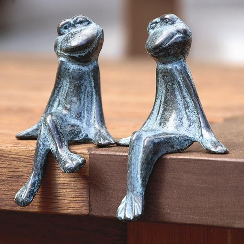 Courting Frogs Sculpture Sculpture Set of 2 | BP3293 | SPI Home