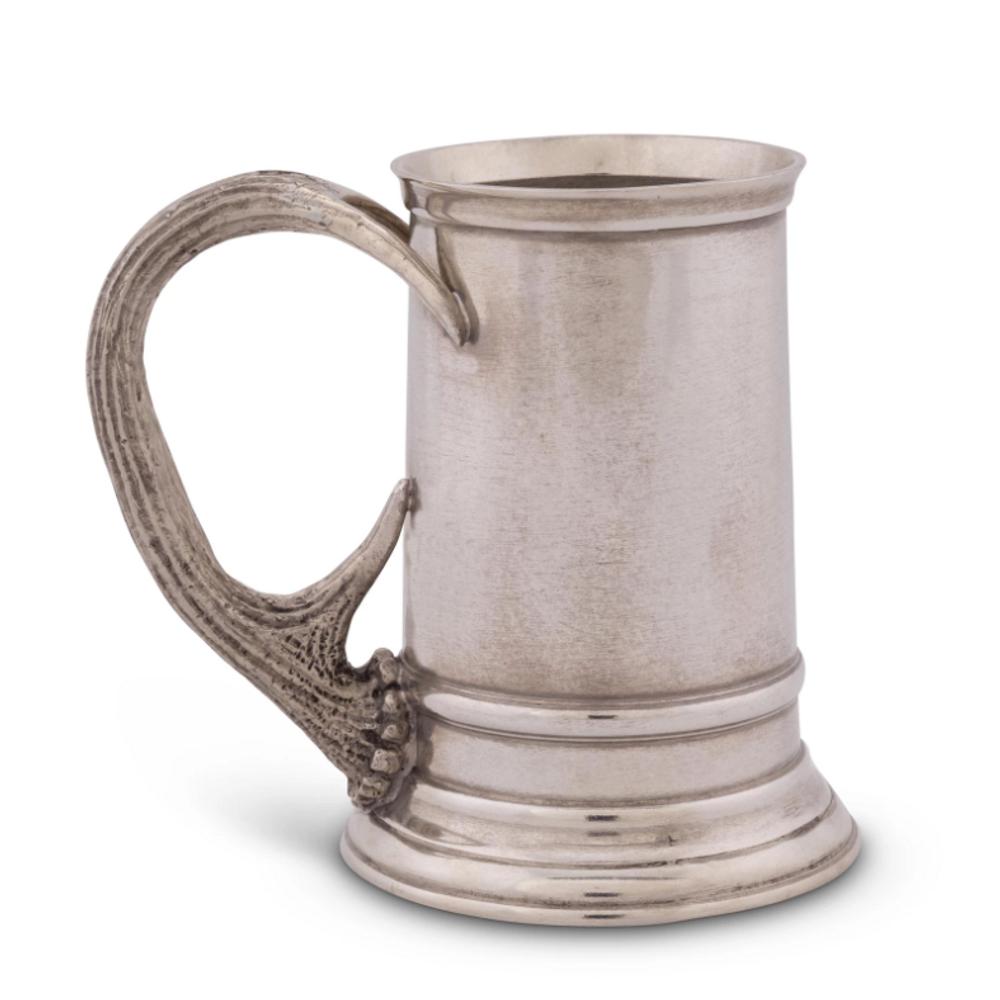 Pewter Stag Handle English Mug | Vagabond House | A109P