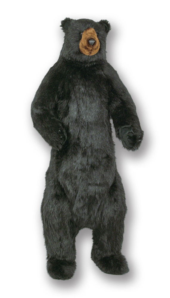 Standing Black Bear Plush Stuffed Animal | Ditz Designs | DIT75019