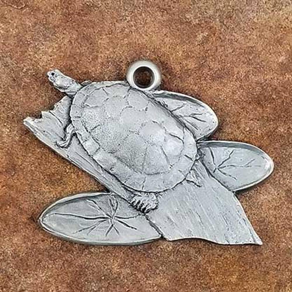 Amazon Turtle Pewter Ornament | Andy Schumann | SCHAMTURTLEORN