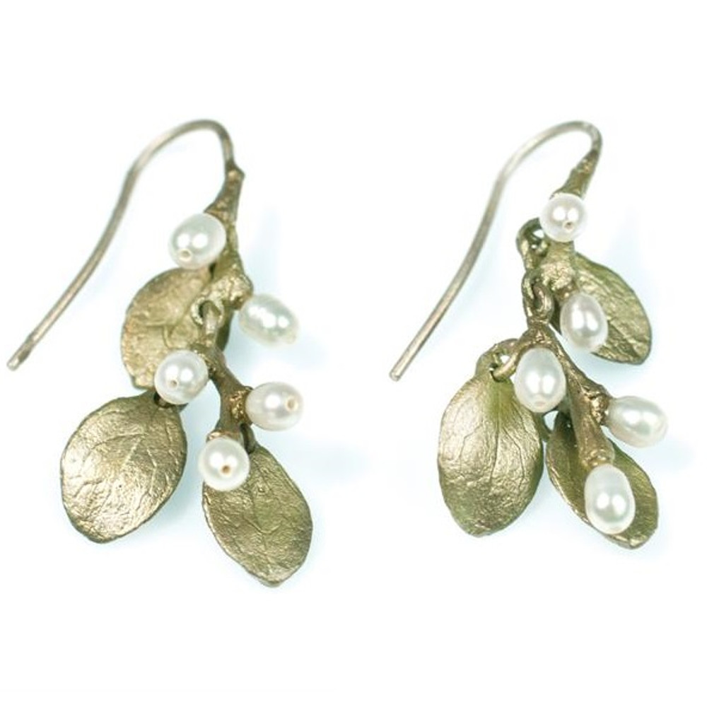 Irish Thorn Shower Wire Earrings | Michael Michaud Jewelry | SS4588bzwp
