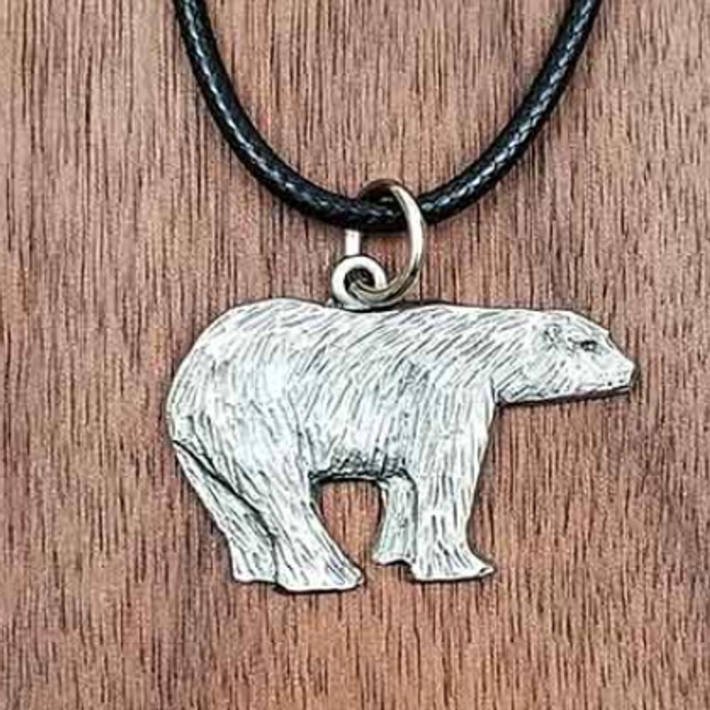 Polar Bear Pendant Necklace | Andy Schumann | SCHPOLARPEND