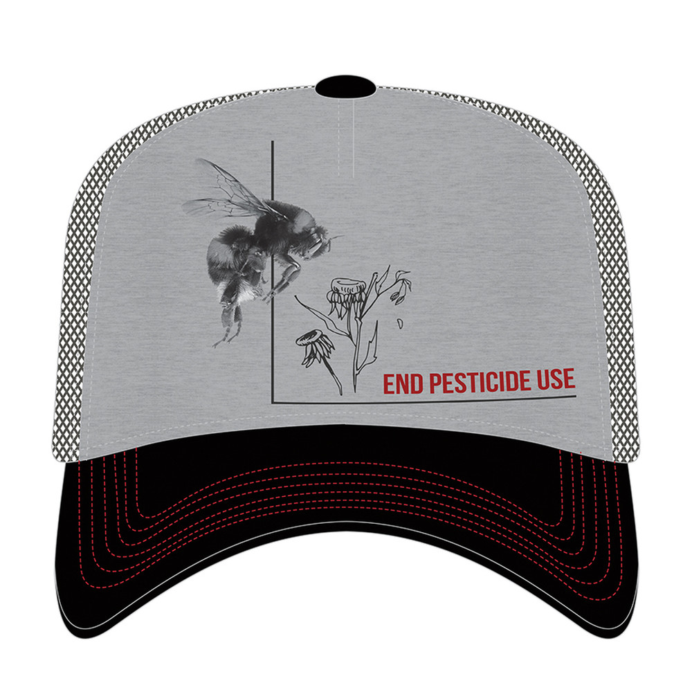 Bumblebee End Pesticide Use Trucker Hat | The Mountain | 765576 | Bee Hat