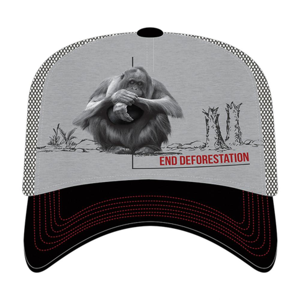 Orangutan End Deforestation Trucker Hat | The Mountain | 765570 | Orangutan Hat