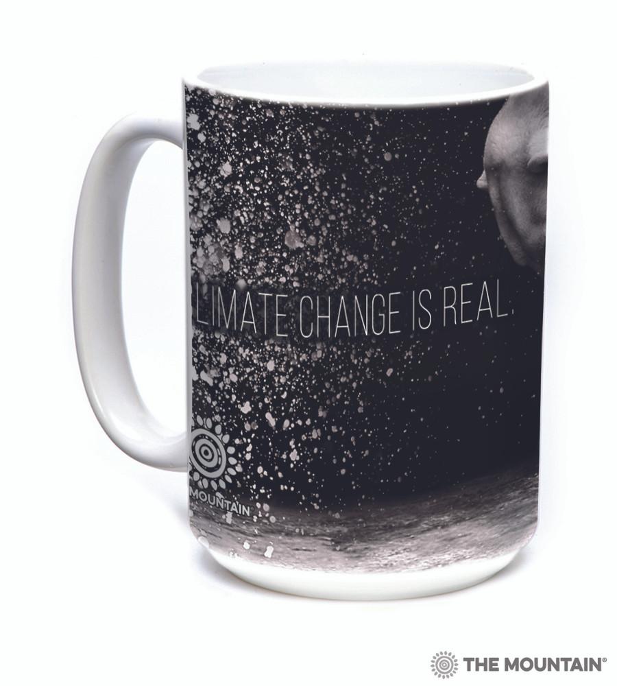 Climate Change Polar Bear 15oz Ceramic Mug | The Mountain | 575983 | Polar Bear Mug