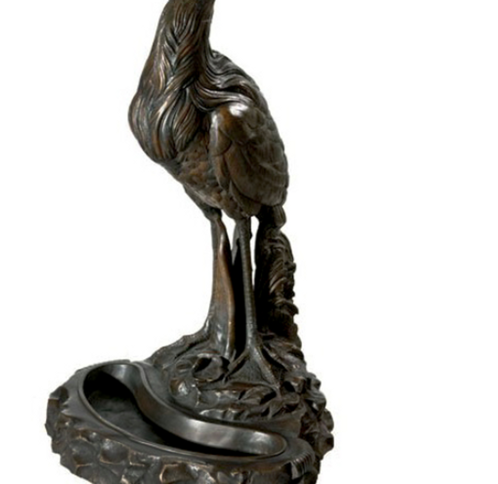 Pelican Bronze Statue Umbrella Stand | Metropolitan Galleries | SRB992463