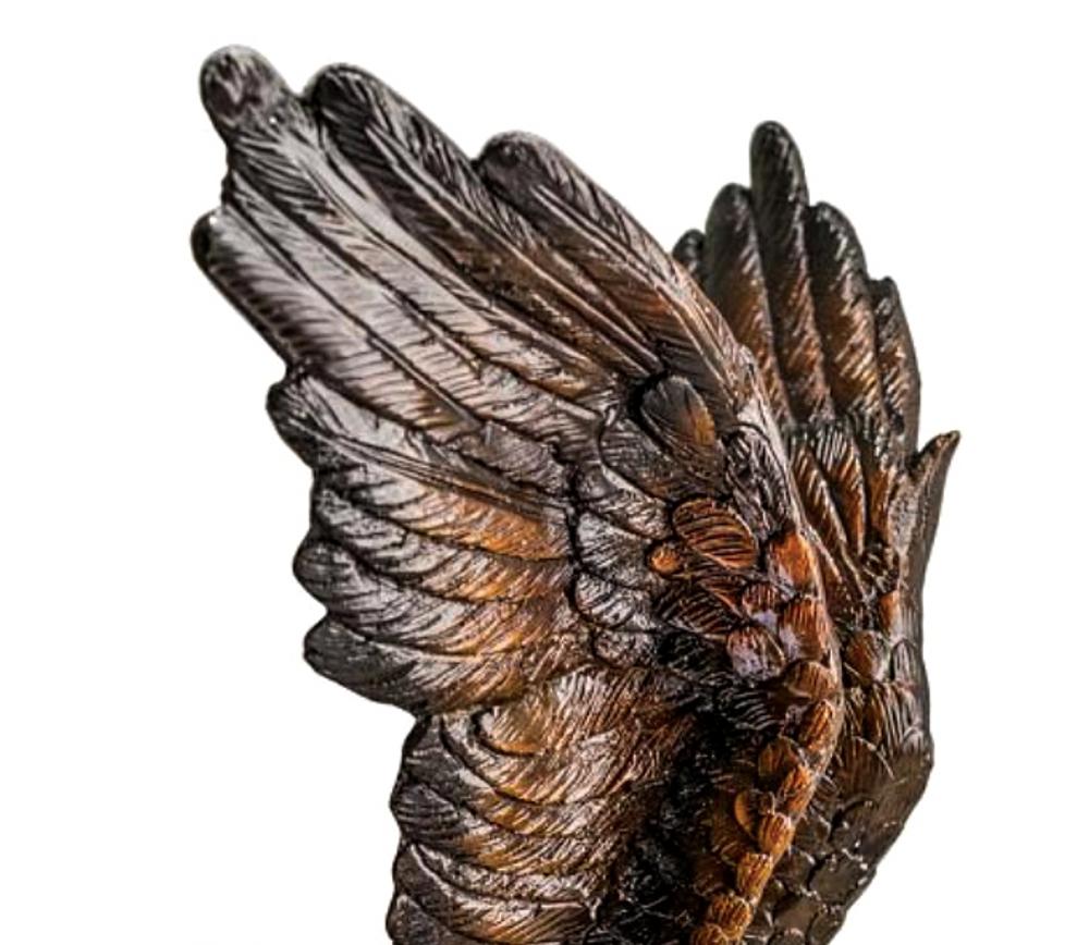 Flying Eagle Bronze Statue   Metropolitan Galleries   SRB056442
