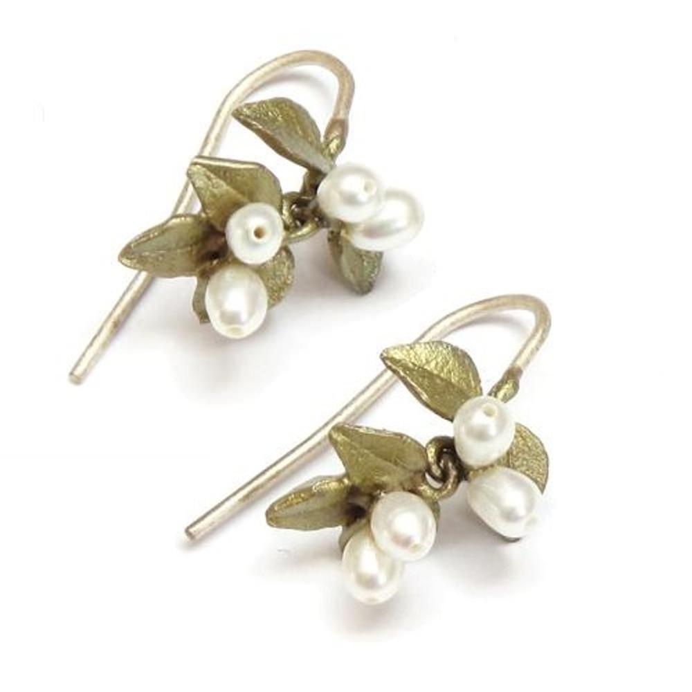 Myrtle Wire Earrings | Michael Michaud Jewelry | SS4763bzwp