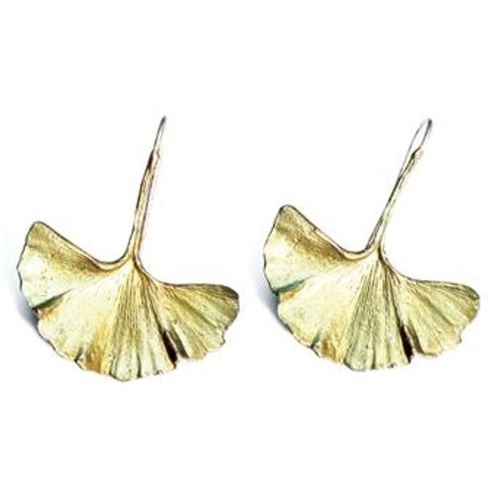 Ginkgo Earrings | Michael Michaud Jewelry | SS4803bz -2
