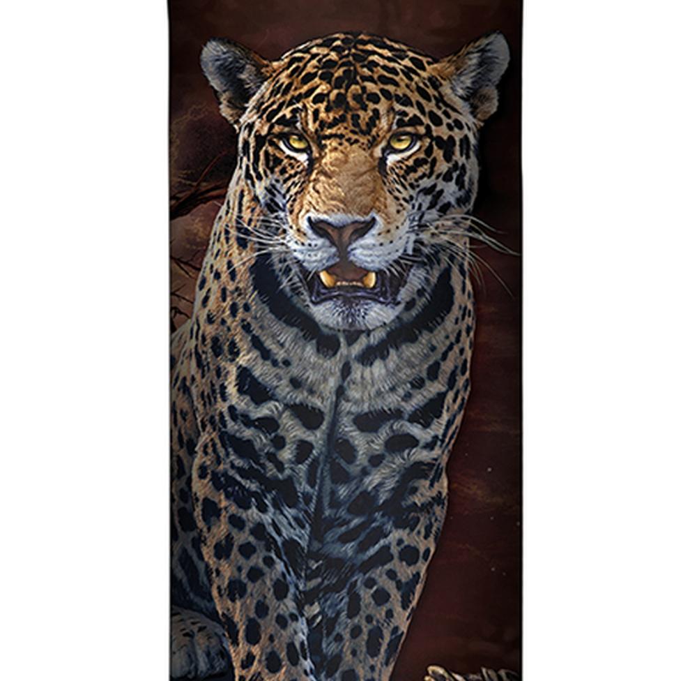 Blood Moon Leopard Stainless Steel 17oz Travel Mug | The Mountain | 5964341 | Leopard Travel Mug