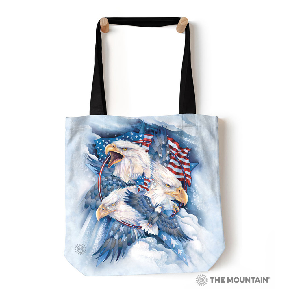 "Allegiance Eagle 18"" Tote Bag 