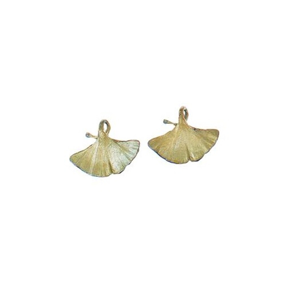 Gingko Clip Earrings | Michael Michaud Jewelry | SS4917BZ