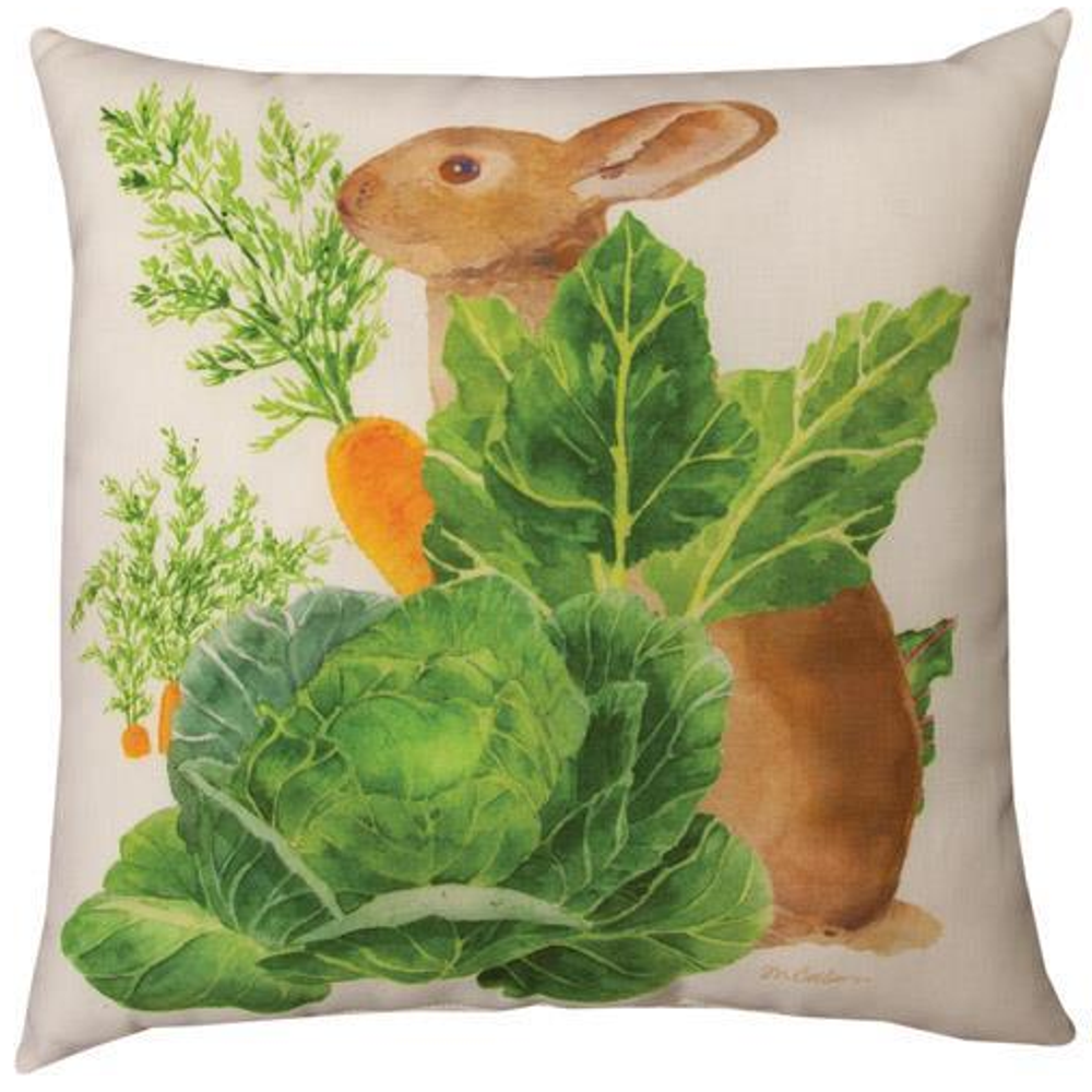 Bunny Trail Patsey Throw Pillow | SLBUTR