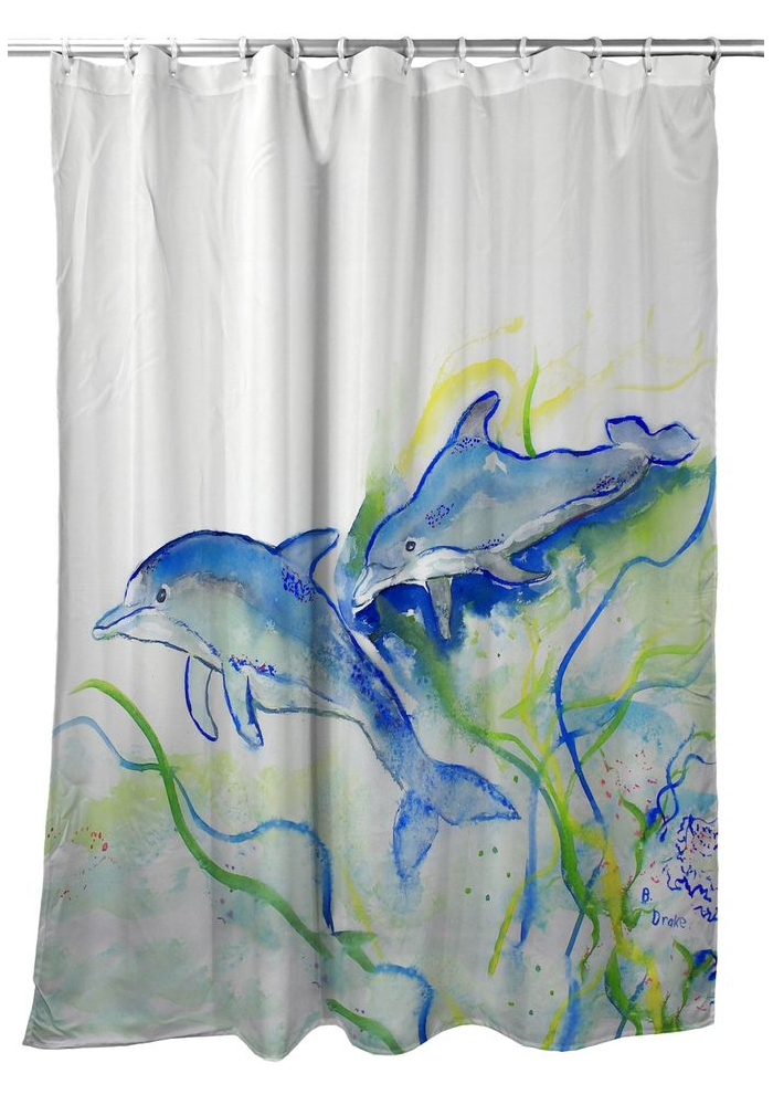 Dolphins Shower Curtain |BDSH002