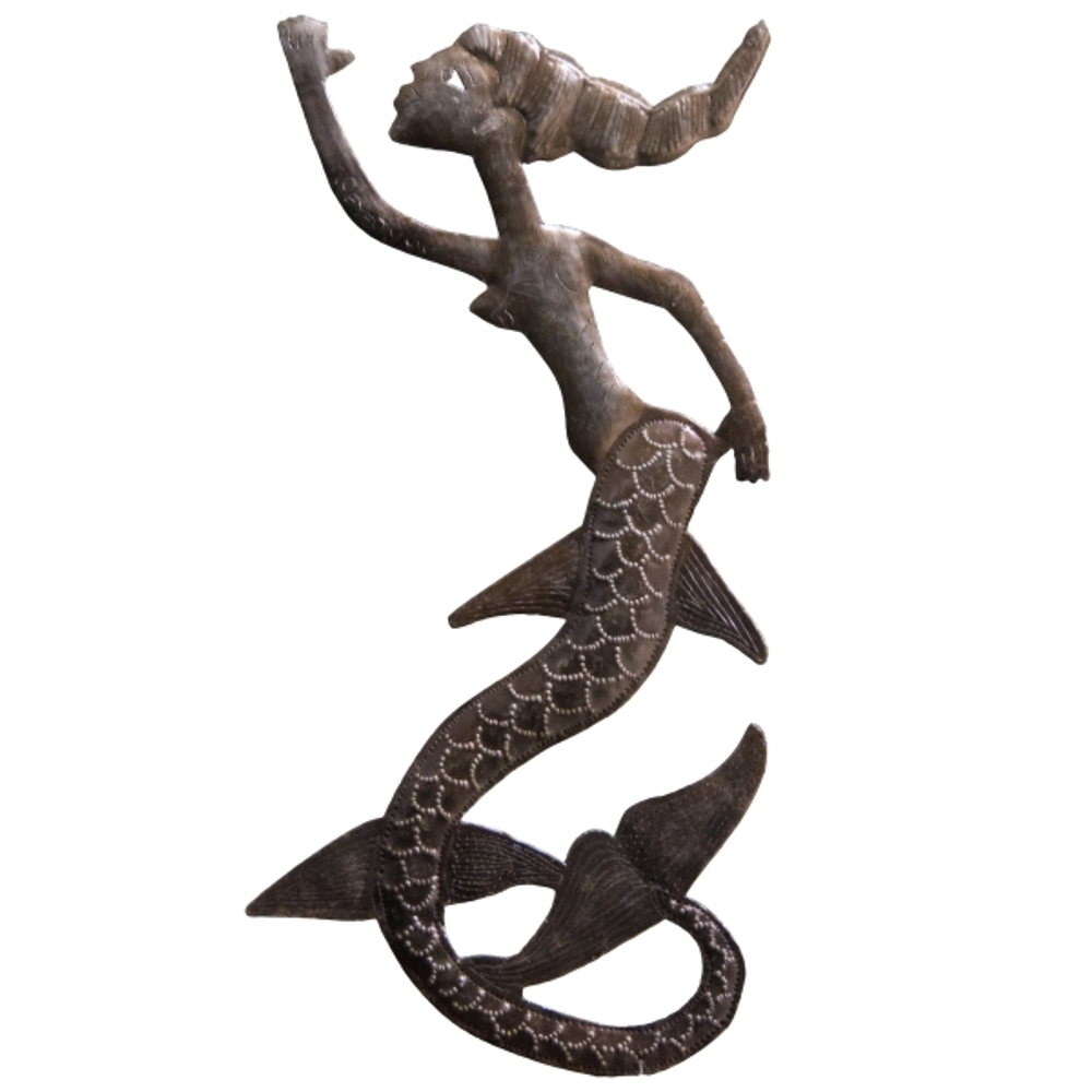 Mermaid Metal Wall Art | Le Primitif