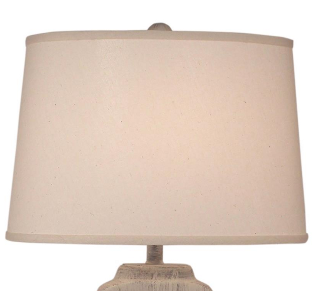Cottage Seamist Shell Accent Table Lamp | Coast Lamp | 16-B3D