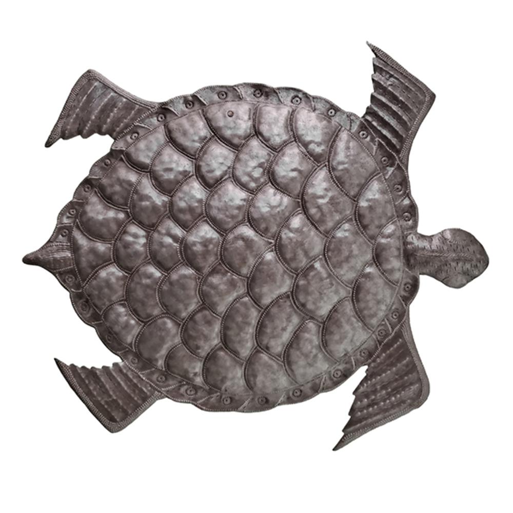 Sea Turtle Metal Wall Art   Le Primitif