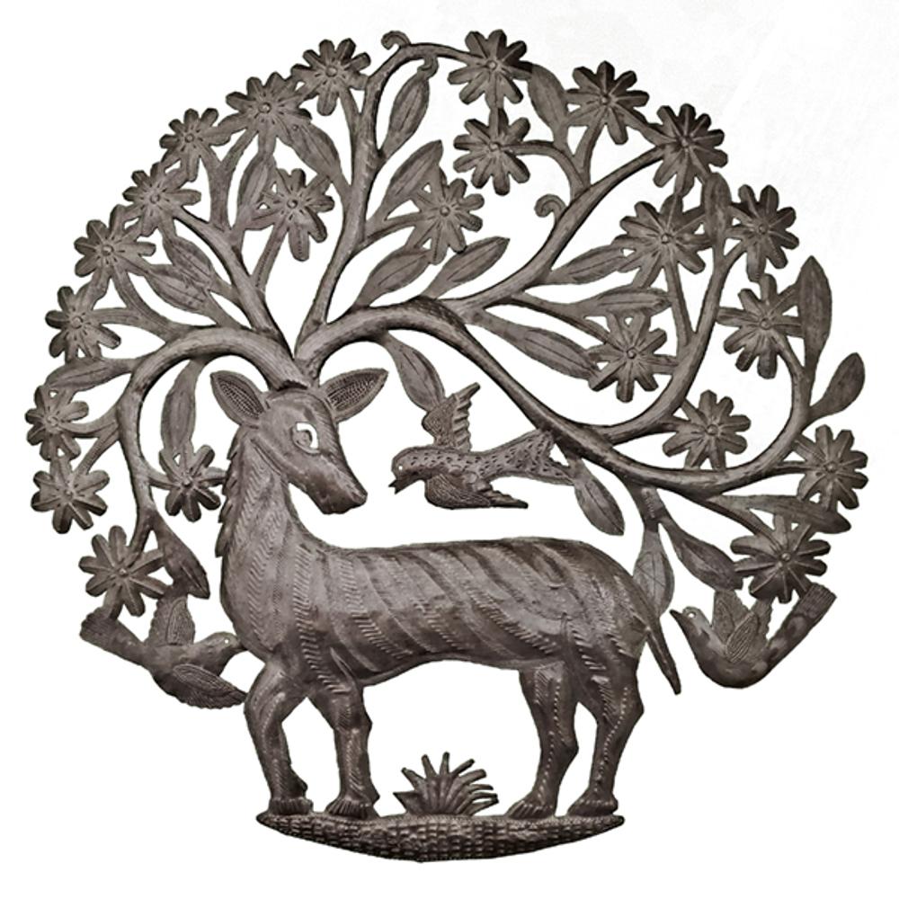 Antlers of Life Metal Wall Art   Le Primitif