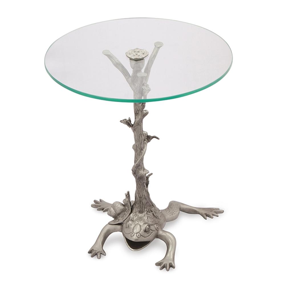 Frog Branch and Vine End Table | SPI Home