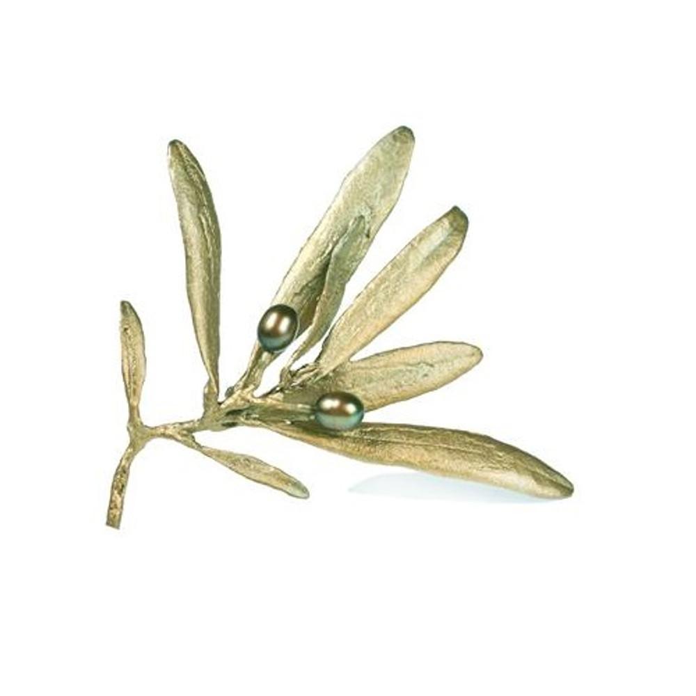 Olive Pin | Michael Michaud Jewelry | SS5604bzop
