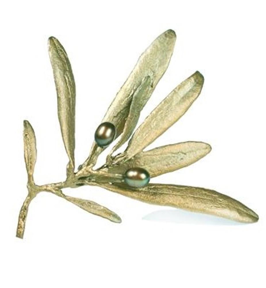 Olive Pin | Michael Michaud Jewelry | SS5604bzop -2