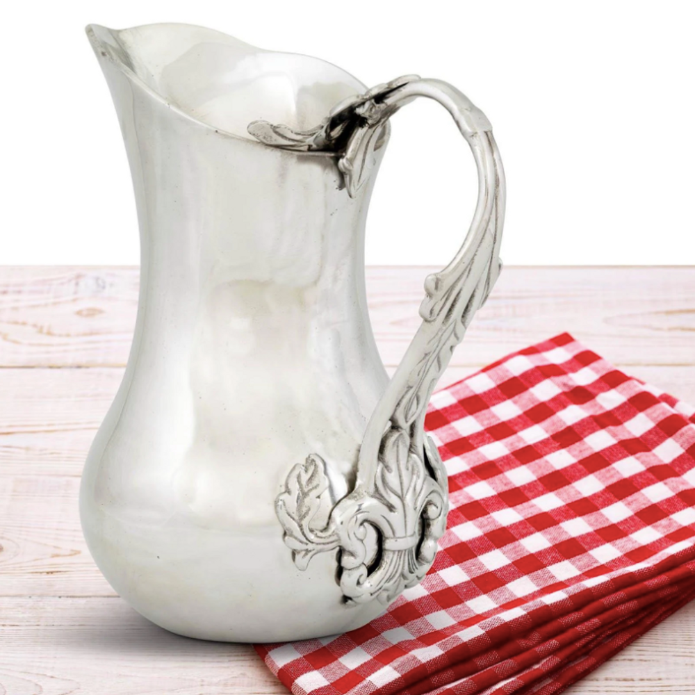 Acanthus Aluminum Pitcher | Arthur Court Designs | 101F11
