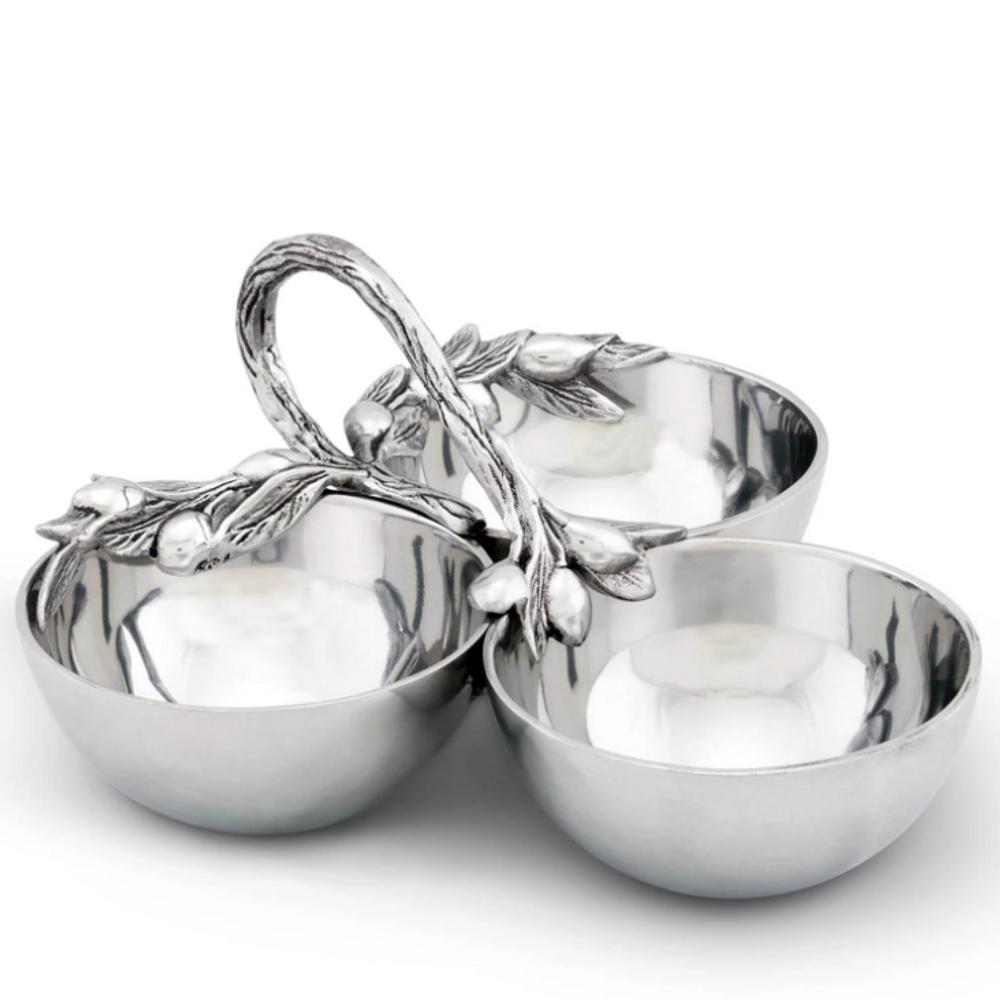 Olive Serving Bowls | Arthur Court Designs | 114G12