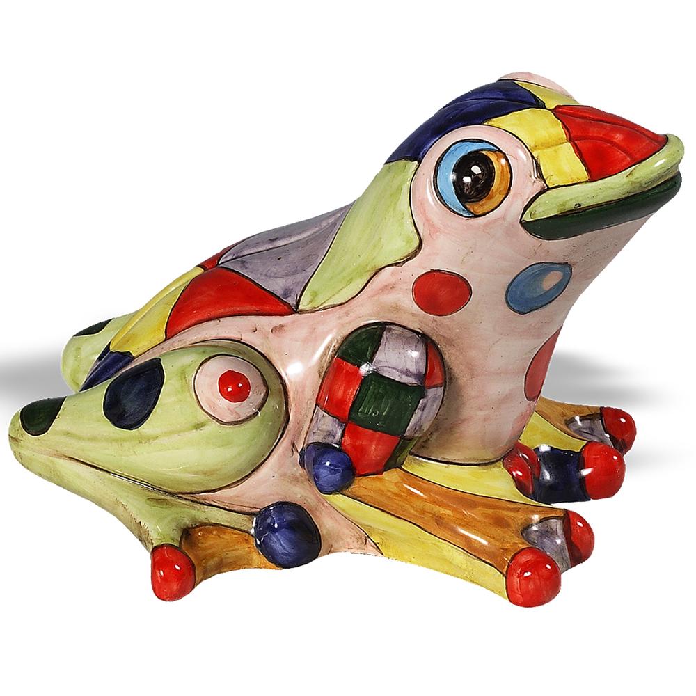 Fantasia Frog Ceramic Sculpture | Intrada Italy | MAJ7870F