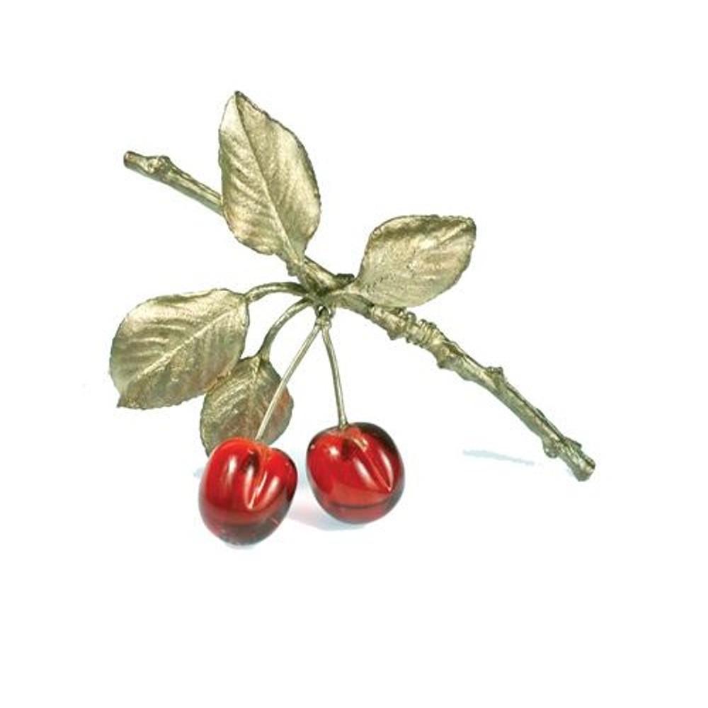 Morello Cherry Pin | Michael Michaud Jewelry | SS5689bzrg