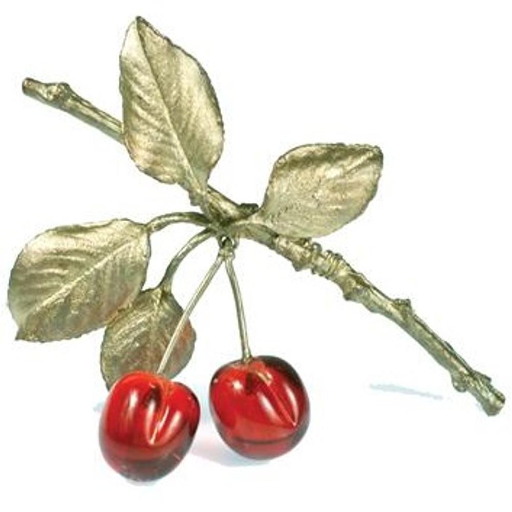 Morello Cherry Pin | Michael Michaud Jewelry | SS5689bzrg -2